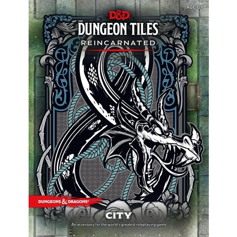DND DUNGEON TILES REINCARNATED - THE CITY