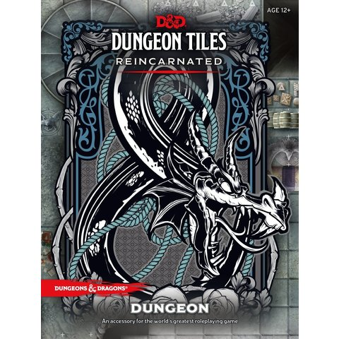 DND DUNGEON TILES REINCARNATED - THE DUNGEON