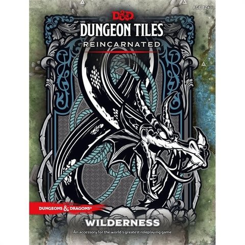 DND DUNGEON TILES REINCARNATED -THE WILDERNESS