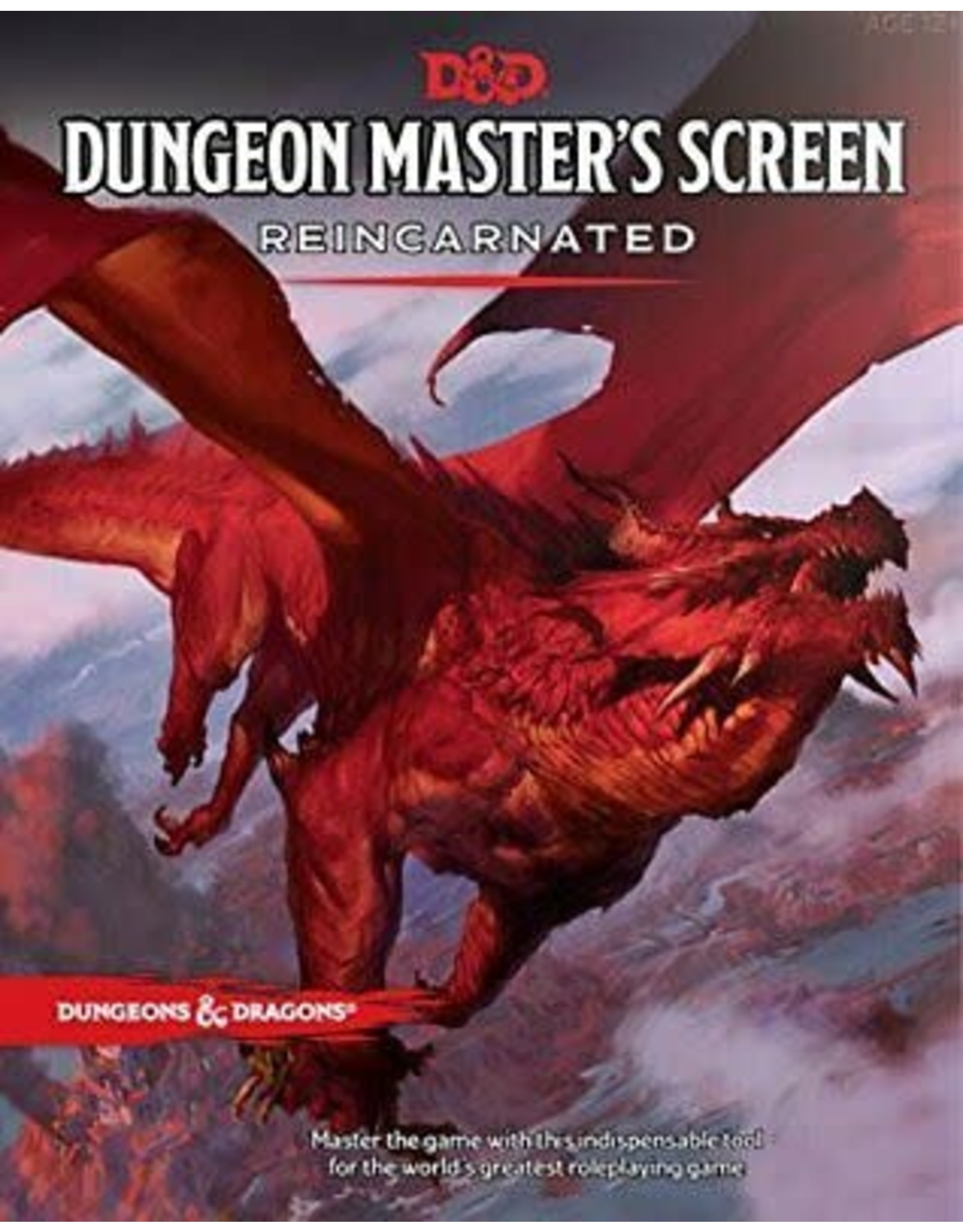 Wizards of the Coast DND DUNGEON MASTER'S SCREEN REINCARNATED