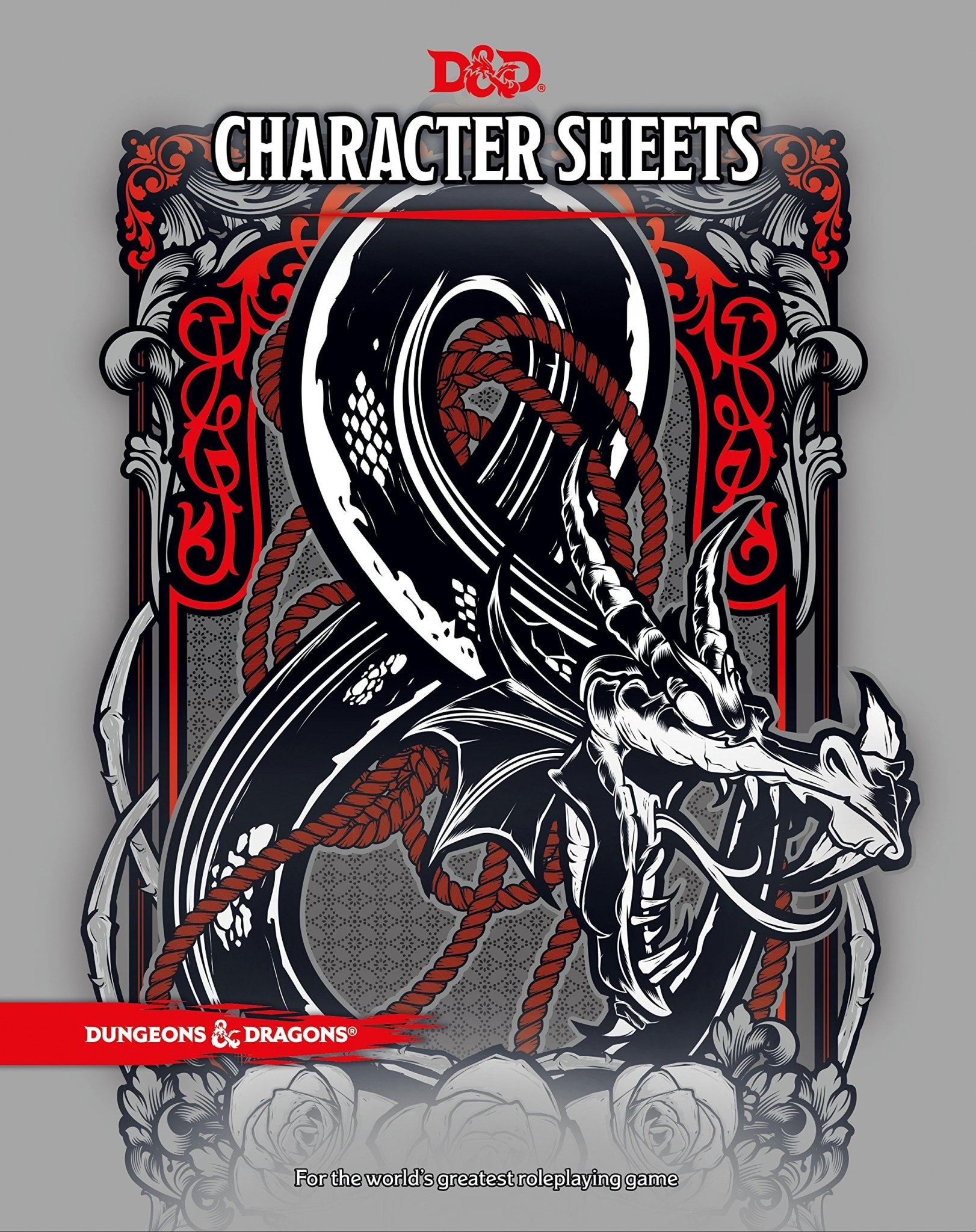 Wizards of the Coast DND CHARACTER SHEETS