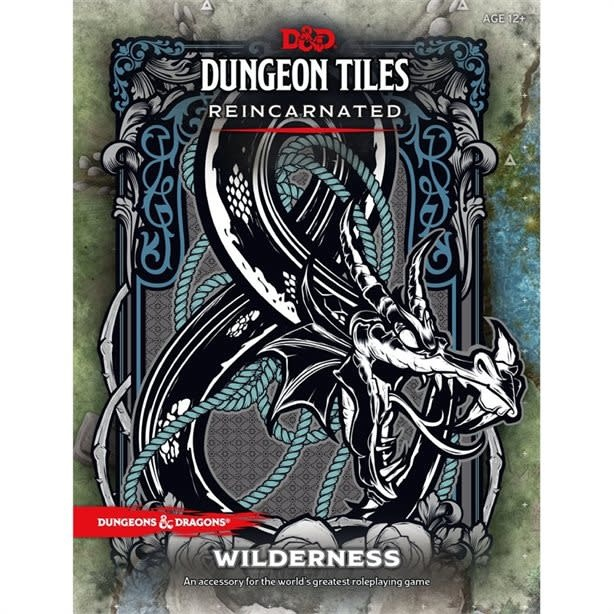 Wizards of the Coast DND DUNGEON TILES REINCARNATED -THE WILDERNESS