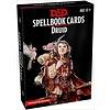 DND SPELLBOOK CARDS DRUID 2ND EDITION