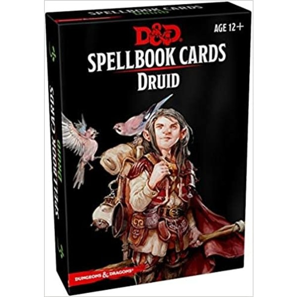 Wizards of the Coast DND SPELLBOOK CARDS DRUID 2ND EDITION