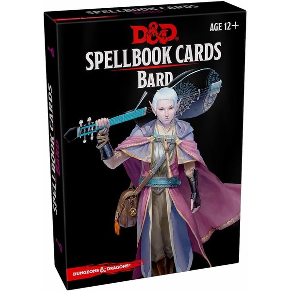Wizards of the Coast DND SPELLBOOK CARDS BARD 2ND EDITION