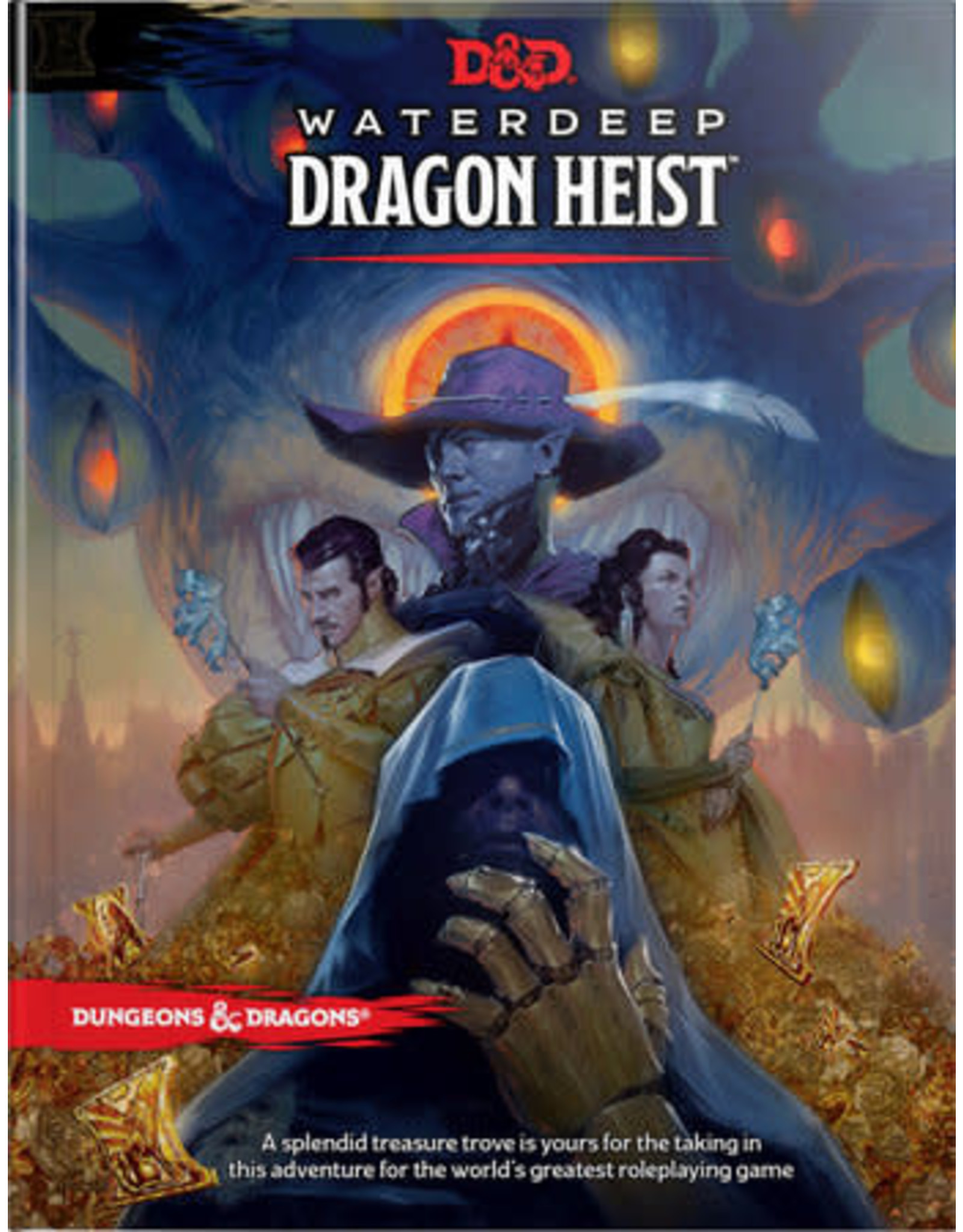 Wizards of the Coast DND RPG WATERDEEP: DRAGON HEIST HC