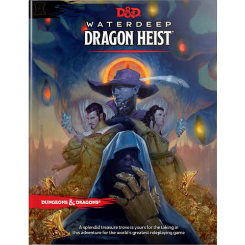 DND RPG WATERDEEP: DRAGON HEIST HC