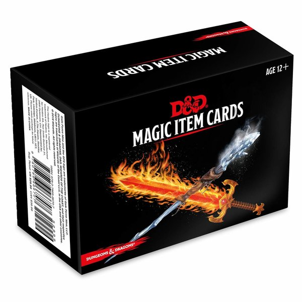 Wizards of the Coast DND MAGIC ITEM CARDS