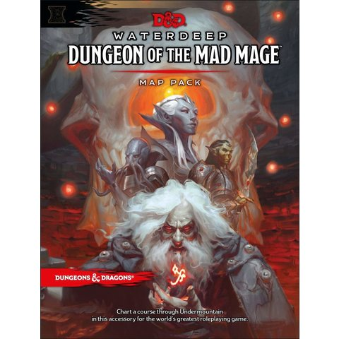 DND RPG WATERDEEP: MAP PACK DUNGEON OF THE MAD MAGE