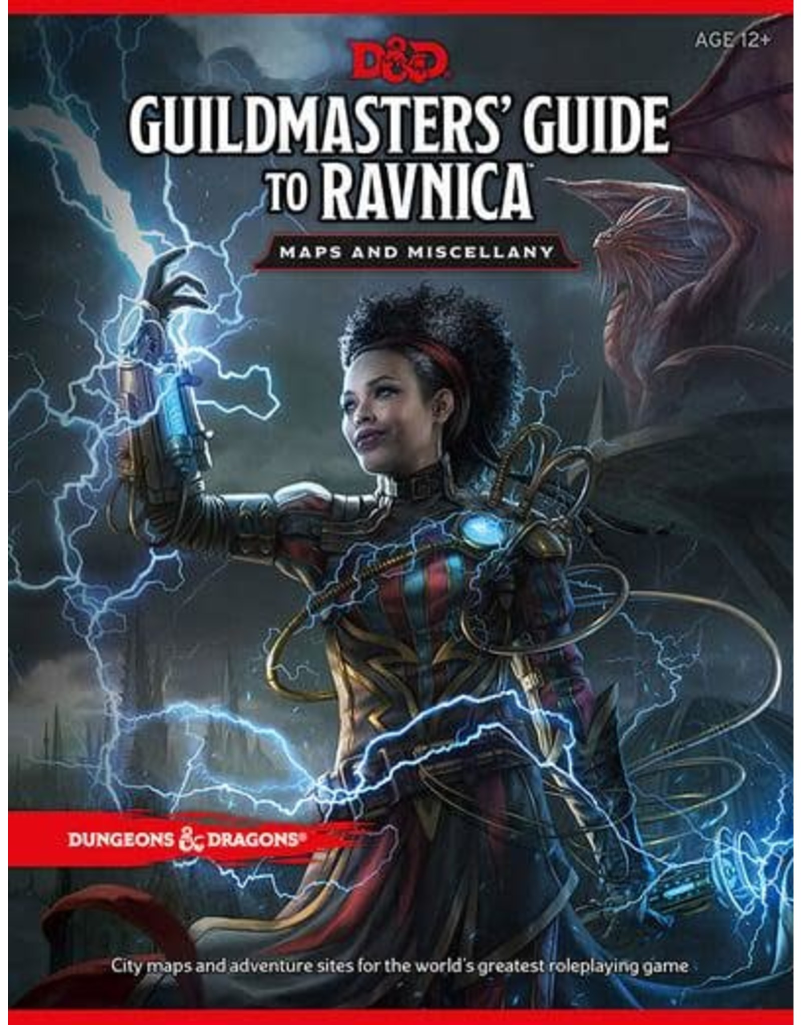 Wizards of the Coast DND RPG GUILDMASTERS GUIDE TO RAVNICA MAP PACK