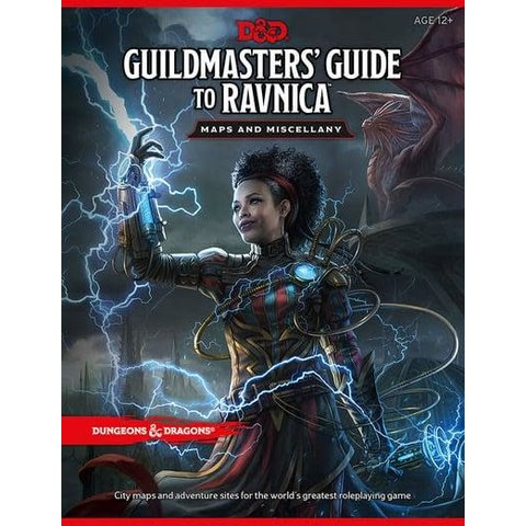 DND RPG GUILDMASTERS GUIDE TO RAVNICA MAP PACK