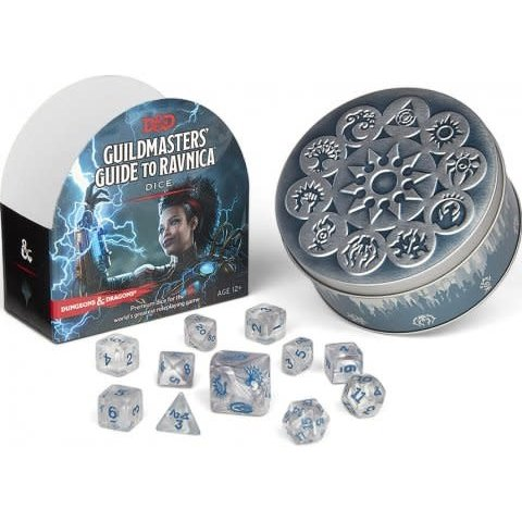 DND RPG GUILDMASTERS GUIDE TO RAVNICA DICE SET