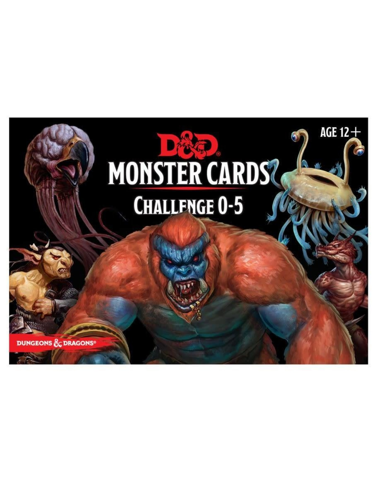 Wizards of the Coast DND MONSTER CARDS: CHALLENGE 0-5