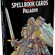 Wizards of the Coast DND SPELLBOOK CARDS PALADIN 2ND EDITION