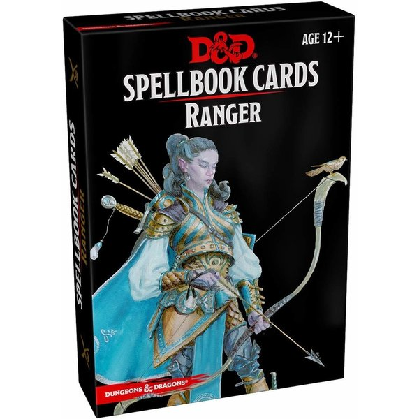 Wizards of the Coast DND SPELLBOOK CARDS RANGER 2ND EDITION