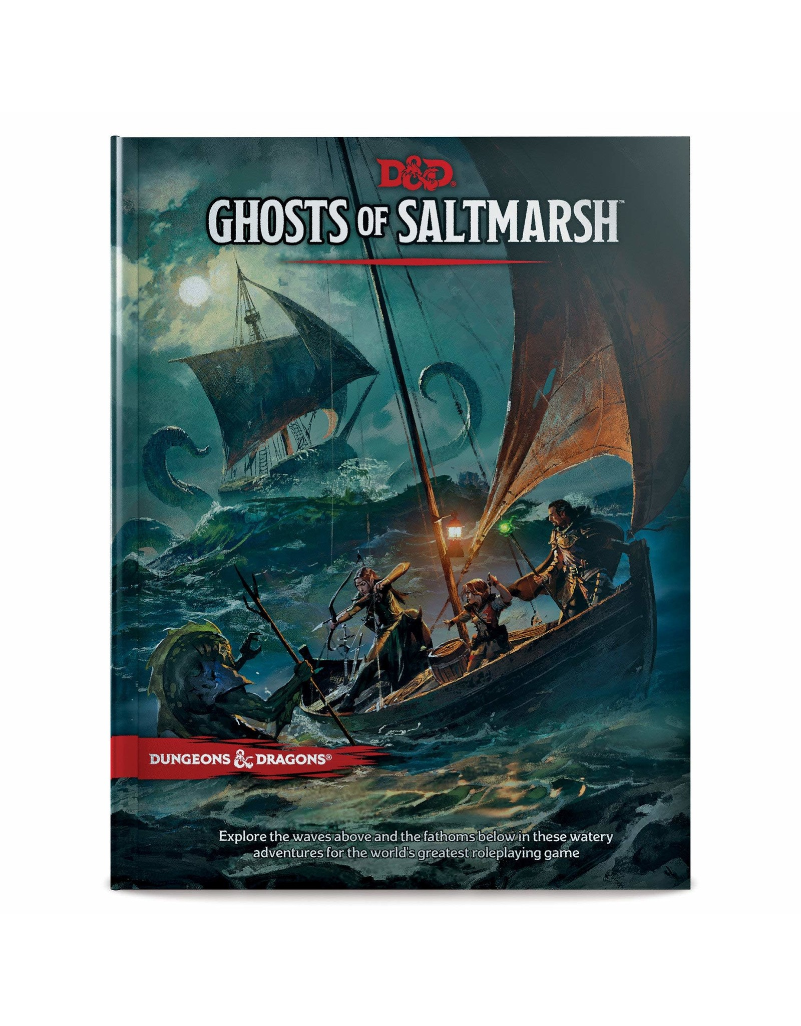 Wizards of the Coast DND RPG GHOSTS OF SALTMARSH HC