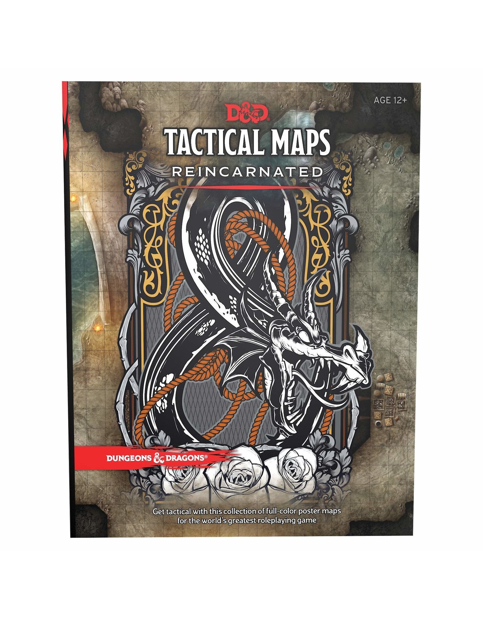 Wizards of the Coast DND RPG TACTICAL MAPS REINCARNATED