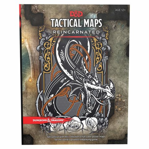 DND RPG TACTICAL MAPS REINCARNATED