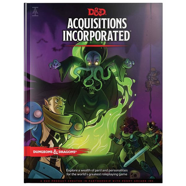 Wizards of the Coast DND RPG ACQUISITIONS INCORPORATED