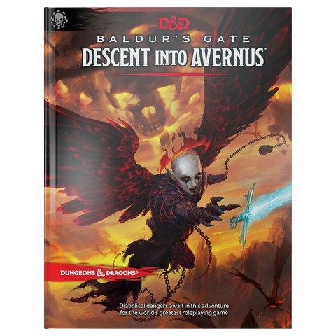 DND RPG BALDUR'S GATE DESCENT INTO AVERNUS