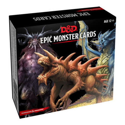 DND EPIC MONSTER CARDS
