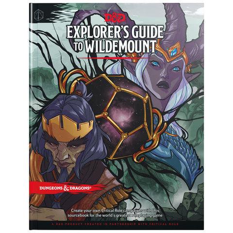 DND RPG EXPLORER'S GUIDE TO WILDEMOUNT HC