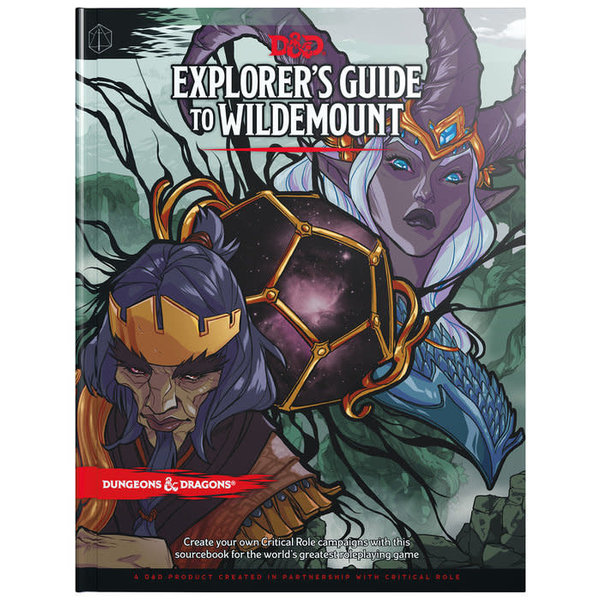 Wizards of the Coast DND RPG EXPLORER'S GUIDE TO WILDEMOUNT HC