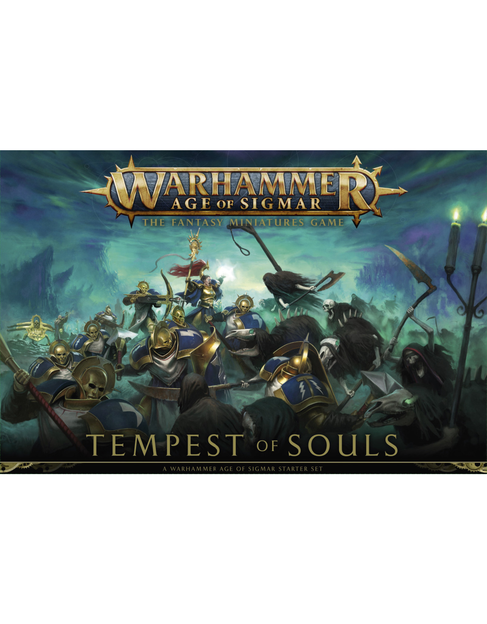 Age of Sigmar AGE OF SIGMAR: TEMPEST OF SOULS (ENG)