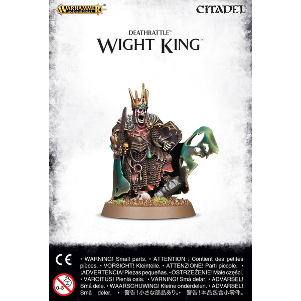 Age of Sigmar DEATHRATTLE WIGHT KING