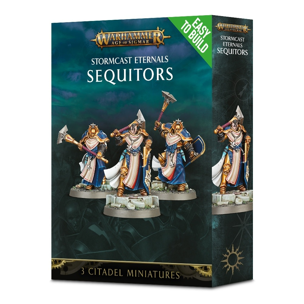 Age of Sigmar EASY TO BUILD STORMCAST SEQUITORS