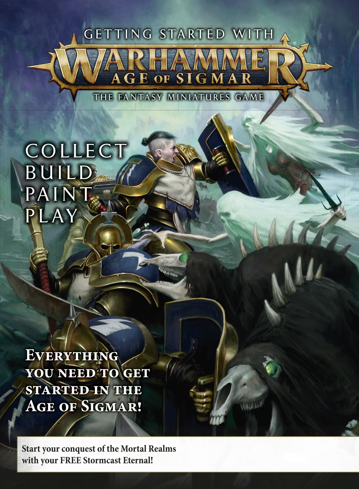 Age of Sigmar GETTING STARTED WITH AGE OF SIGMAR (ENG)