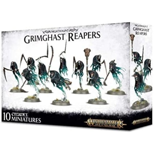 Age of Sigmar NIGHTHAUNT GRIMGHAST REAPERS