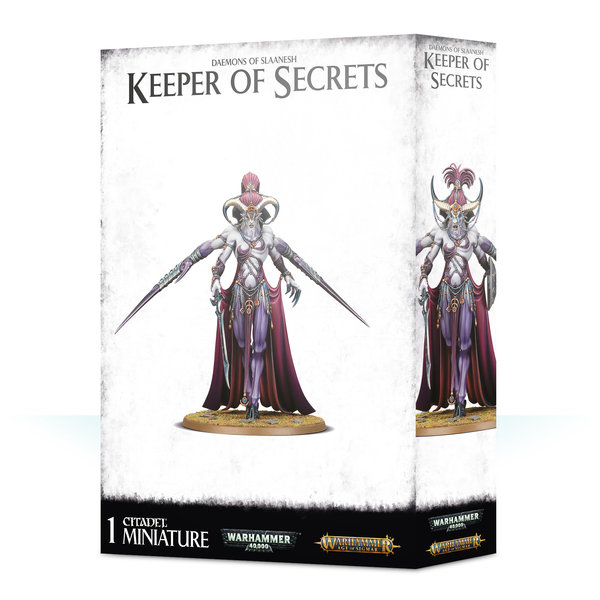 Age of Sigmar DAEMONS OF SLAANESH KEEPER OF SECRETS