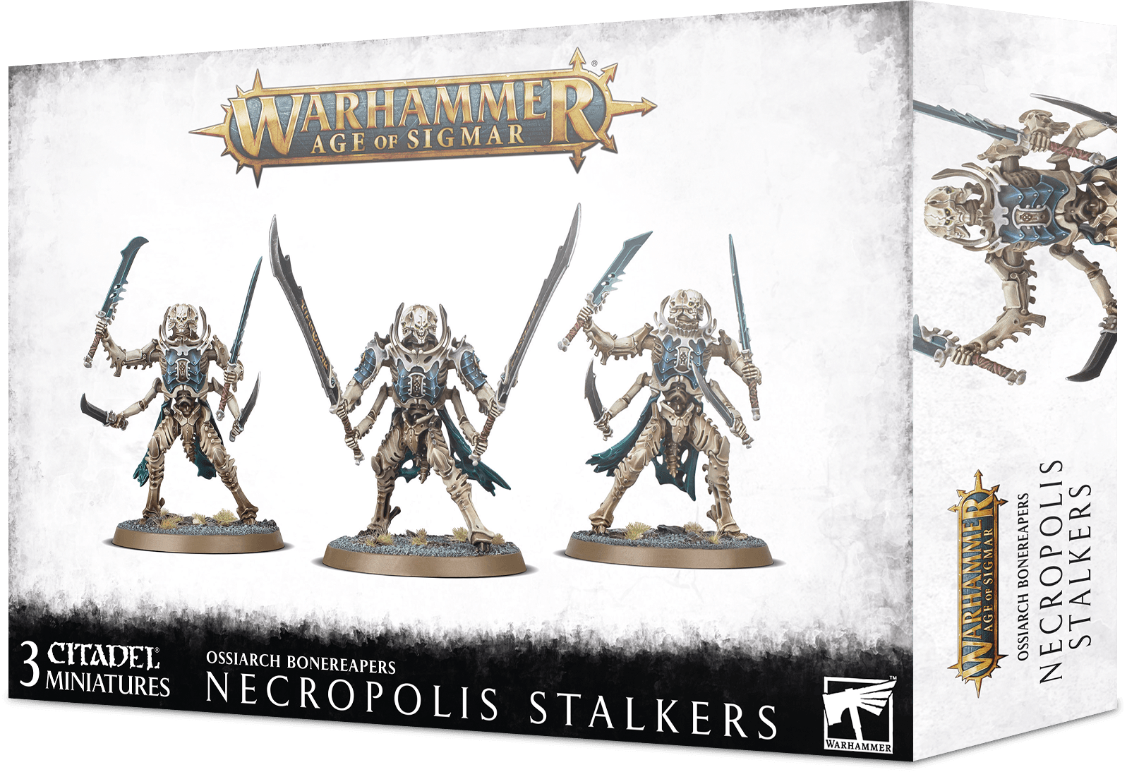 Age of Sigmar OSSIARCH BONEREAPERS NECROPOLIS STALKERS