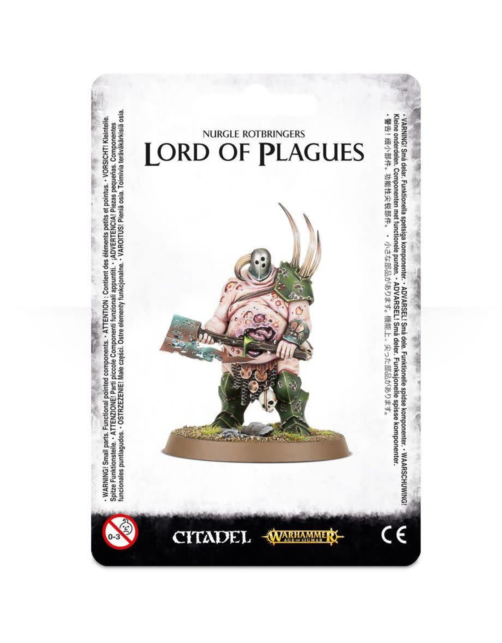 Age of Sigmar NURGLE ROTBRINGERS LORD OF PLAGUES