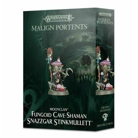 Age of Sigmar FUNGOID CAVE-SHAMAN SNAZZGAR STINKMULLET