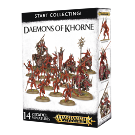 Age of Sigmar START COLLECTING! DAEMONS OF KHORNE