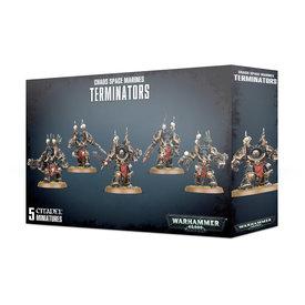 Warhammer 40k CHAOS SPACE MARINE TERMINATORS