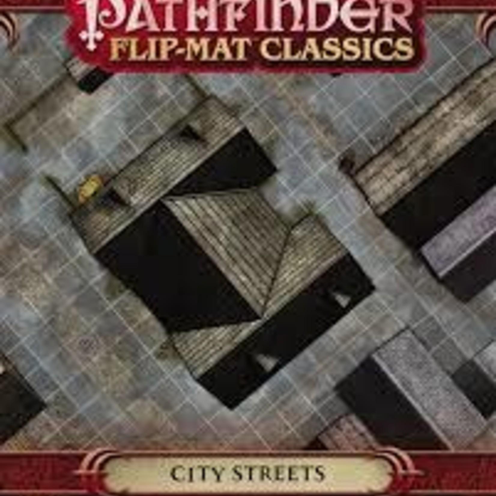 Paizo PF FLIP-MAT CLASSICS: CITY STREETS