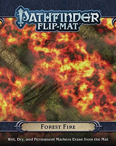 Paizo PF FLIP-MAT: FOREST FIRE