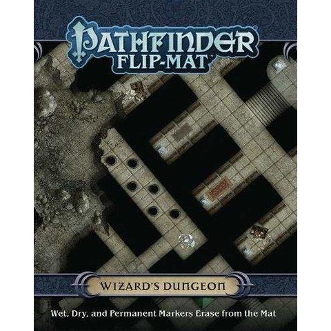 PF FLIP-MAT: WIZARD'S DUNGEON