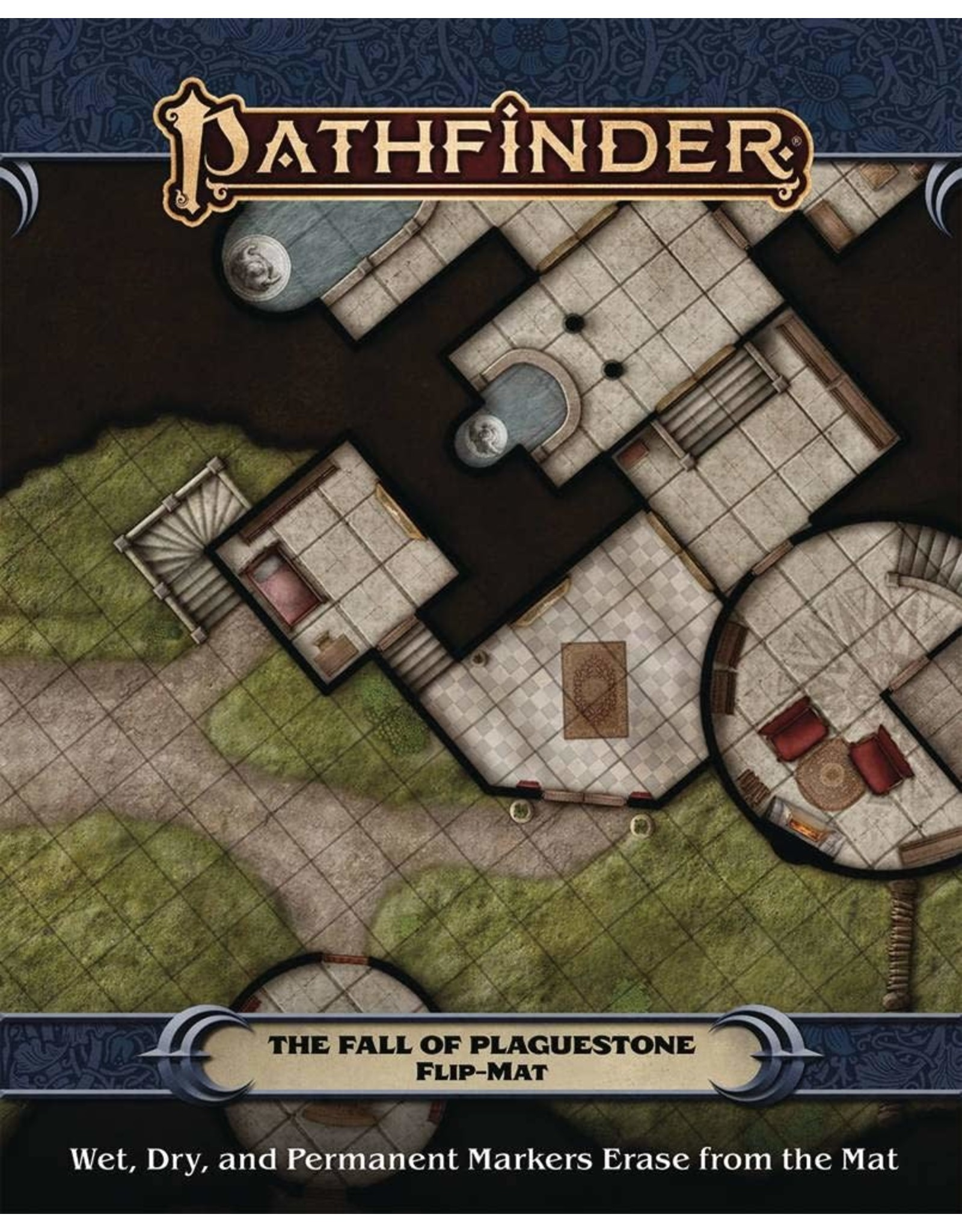 Paizo PF FLIP-MAT: THE FALL OF PLAGUESTONE