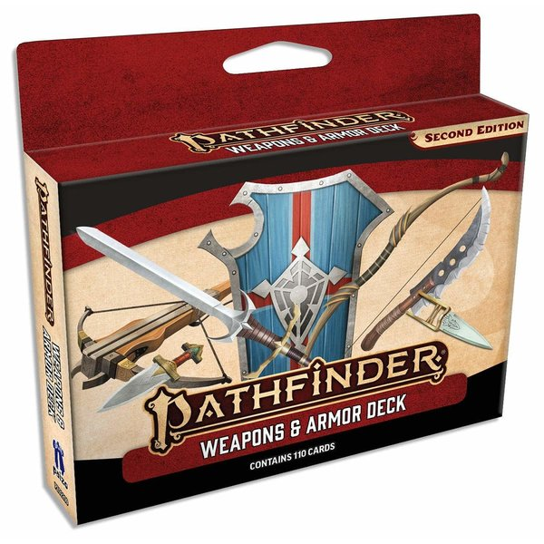 Paizo PF 2E CARDS: WEAPONS AND ARMOR DECK