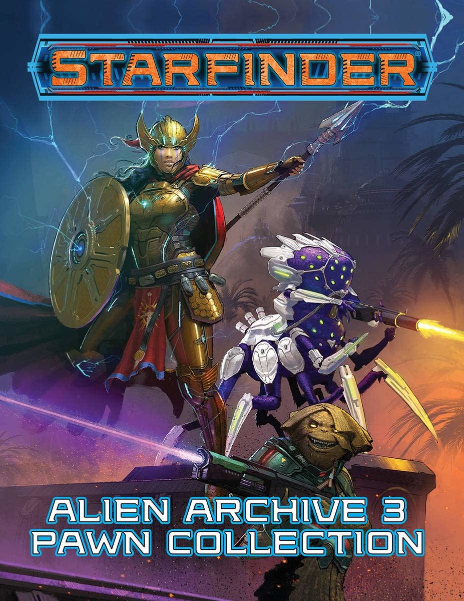 Paizo STARFINDER PAWNS: ALIEN ARCHIVE 3 PAWN COLLECTION