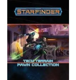 Paizo STARFINDER PAWNS: TECH TERRAIN PAWN COLLECTION