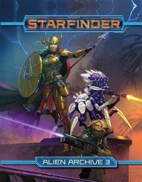 Paizo STARFINDER RPG ALIEN ARCHIVE 3 HC
