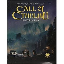 Chaosium Inc. CALL OF CTHULHU 7TH EDITION KEEPER SCREEN