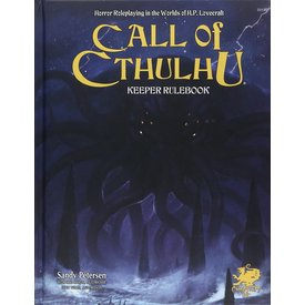 Chaosium Inc. CALL OF CTHULHU 7TH EDITION KEEPER RULEBOOK HC