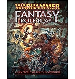 Games Workshop WARHAMMER FANTASY RPG 4TH ED RULEBOOK