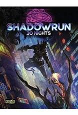 Catalyst Game Labs SHADOWRUN 30 NIGHTS HC